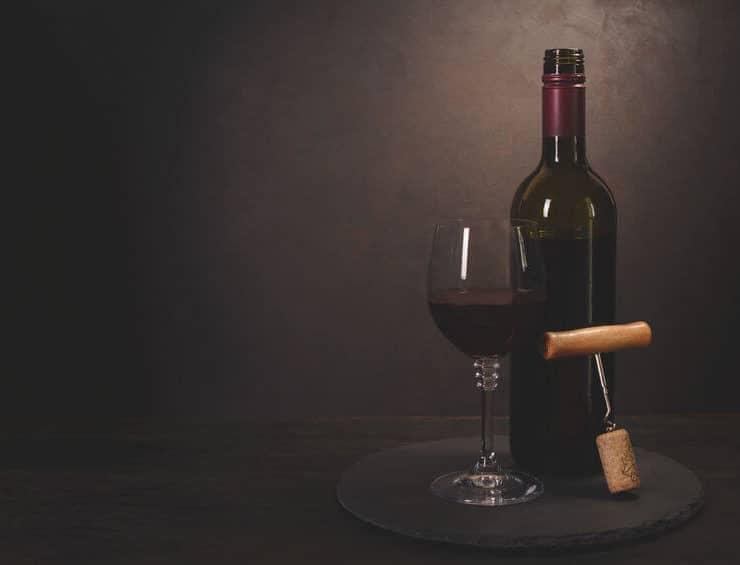 wino zamiast ćwiczeń