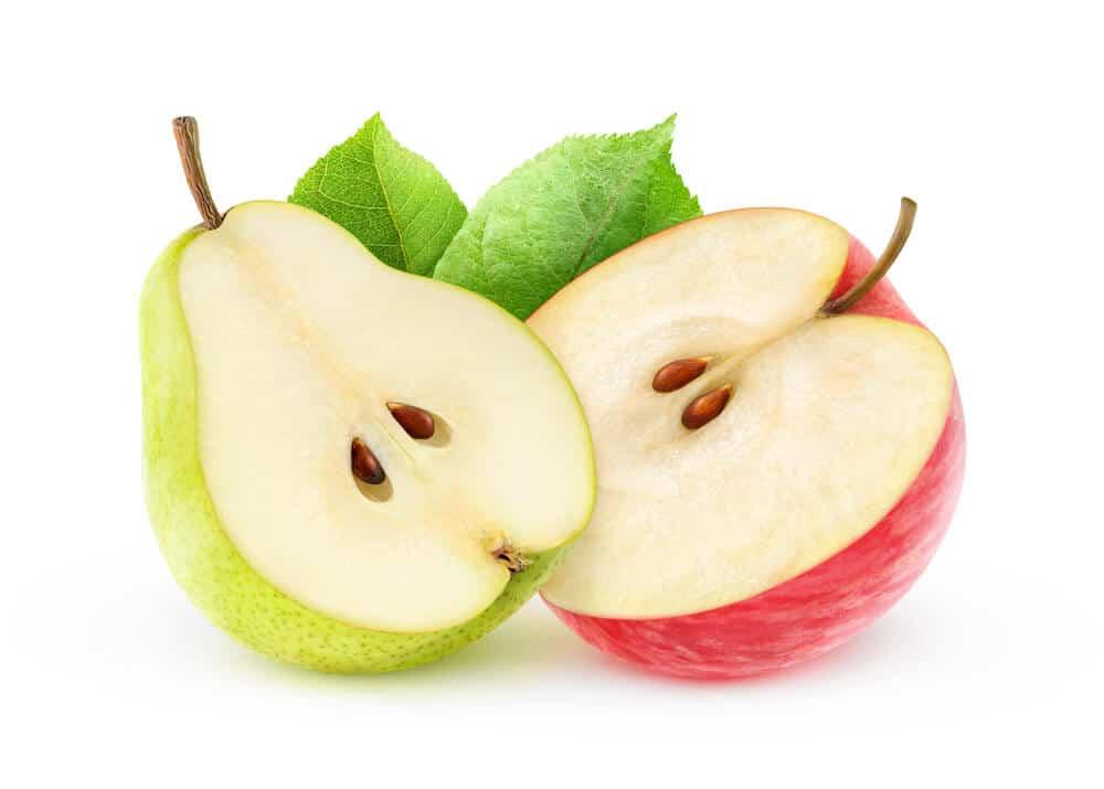 jabłko gruszka
