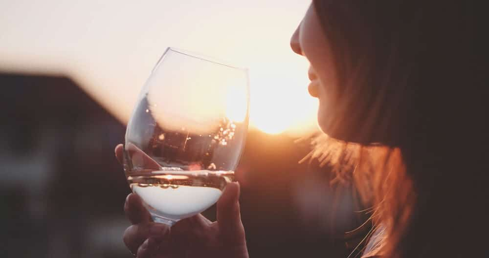 wino rak piersi