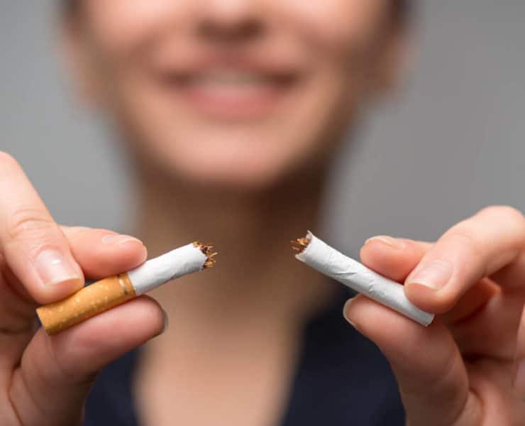 po rzuceniu palenia