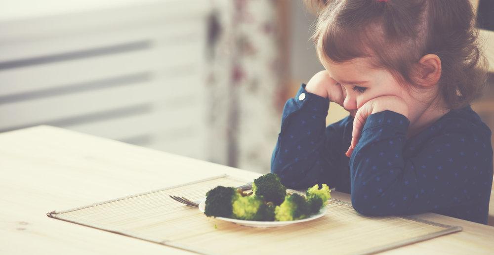 dlaczego dzieci nie lubią warzyw