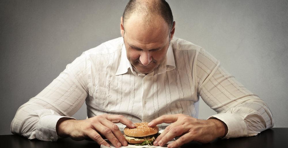 fast food depresja