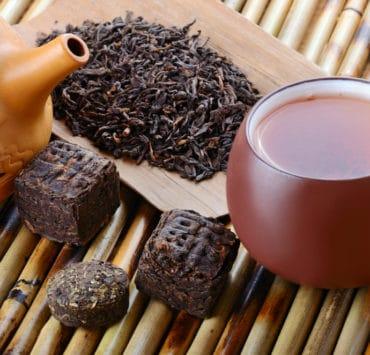 pu erh herbata czerwona