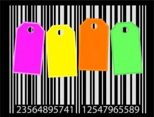 kolorowe etykiety