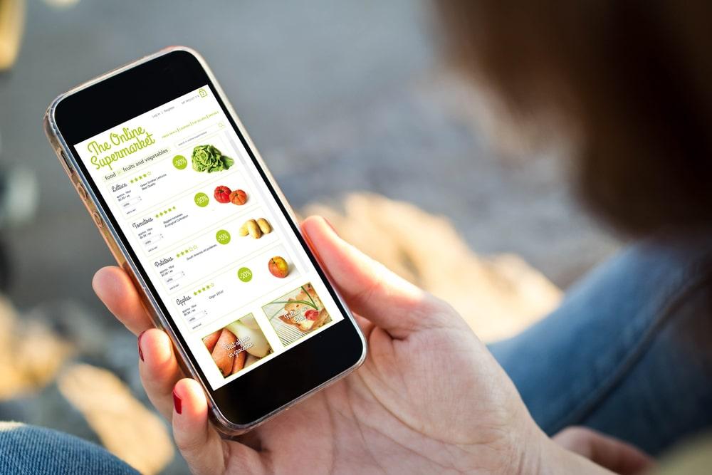 jedzenie kupowane online
