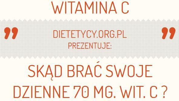 Gdzie jest najwięcej witaminy C ?