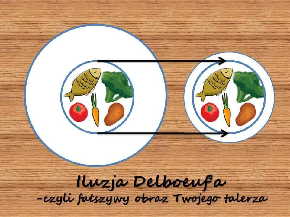Fałszywy obraz Twojego talerza – Iluzja Delboeuf'a