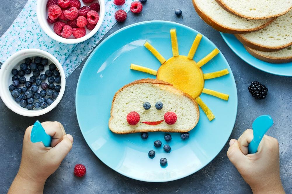 przekonanie dzieci do zdrowego jedzenia