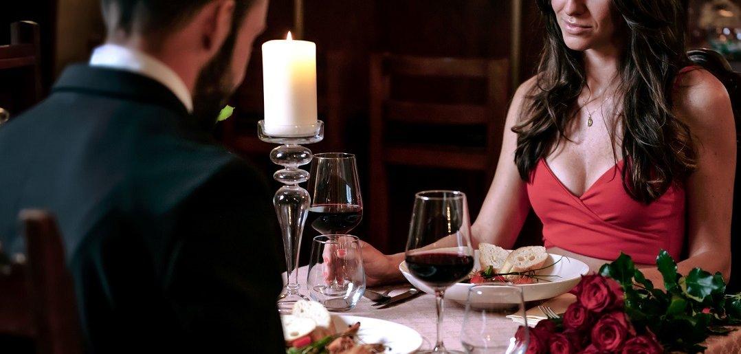 romantyczne jedzenie