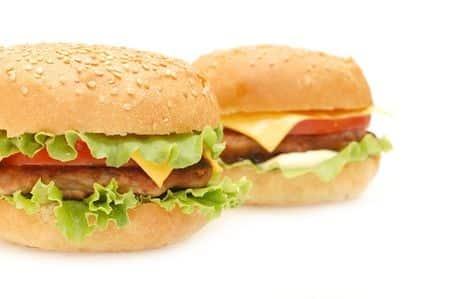 O hamburgerach słów kilka