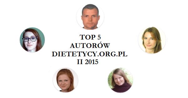 Najpopularniejsi autorzy i artykuły lutego 2015