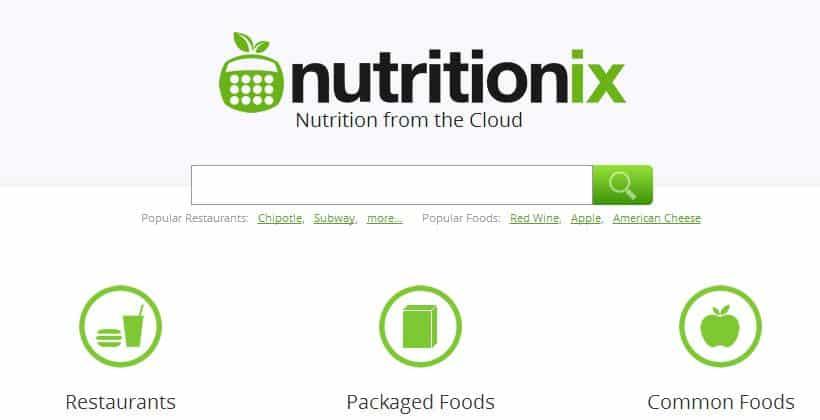 nutritionix
