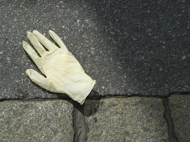 rękawiczka lateks