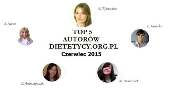 Najpopularniejsi autorzy i artykuły czerwca 2015