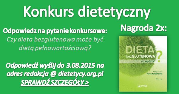 KONKURS z nagrodami: Dieta bezglutenowa
