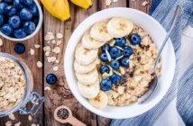 płatki owsiane śniadanie