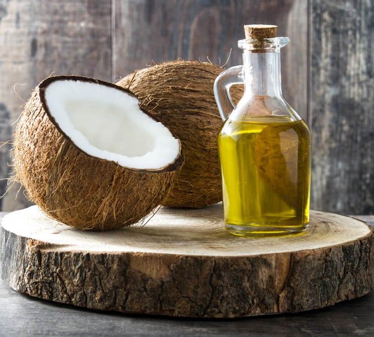 olej kokosowy candida
