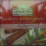 Ahmad – Herbata Rooibos & Cinnamon
