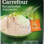 Carrefour – Ryż Parboiled Pełnoziarnisty