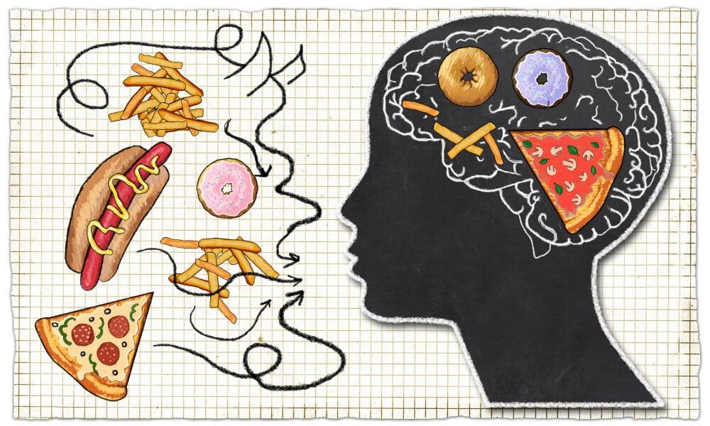 brak umiaru w jedzeniu