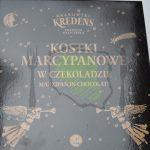Krakowski Kredens Kostki marcepanowe w czekoladzie