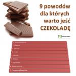 9 powodów dla których warto jeść czekoladę