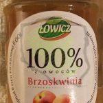 Łowicz Dżem Brzoskwinia 100% z owoców