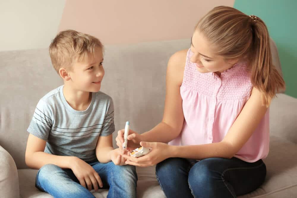 dzieci cukrzyca