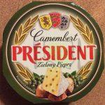 Président Camembert Zielony Pieprz