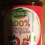 Dżem Łowicz Truskawka Czerwona Porzeczka 100% z Owoców Extra Gładki