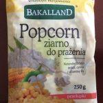 Bakalland Popcorn ziarno do prażenia