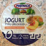 Piątnica Jogurt Typu Greckiego z brzoskwinią i marakują