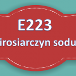 E223 – Pirosiarczyn sodu
