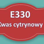 E330 – Kwas cytrynowy