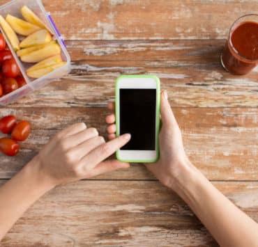 program dietetyczny na smartfona