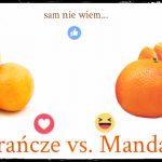 Mandarynki czy pomarańcze?