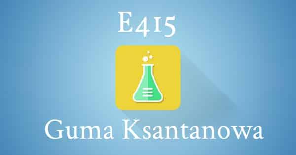 e415 guma ksantanowa