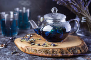 niebieska herbata