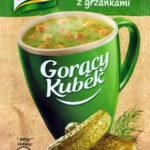 Knorr ogórkowa z grzankami
