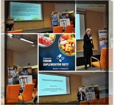 RELACJA: XII Międzynarodowe Forum Suplementów Diety