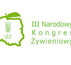 III Narodowy Kongres Żywieniowy IŻŻ