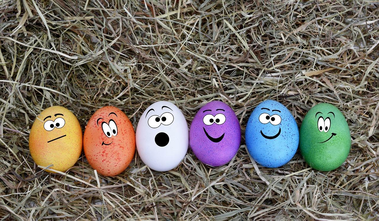 farbowanie jajek