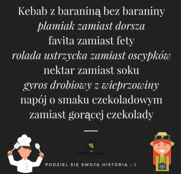 Kebab z baraniną bez baraniny