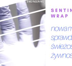 Sentinel wrap – nowa metoda sprawdzania świeżości żywności