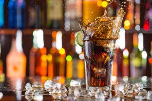 e 150d - cola, whiskey