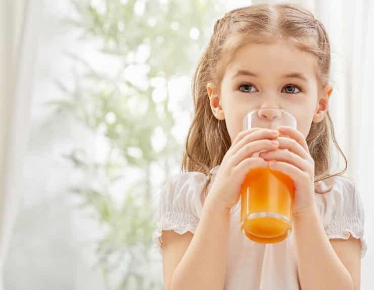 sok w żywieniu dzieci