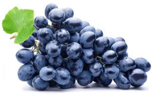 ciemne winogrona - właściwości winogron