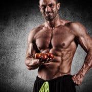 sportowiec wegetarianin