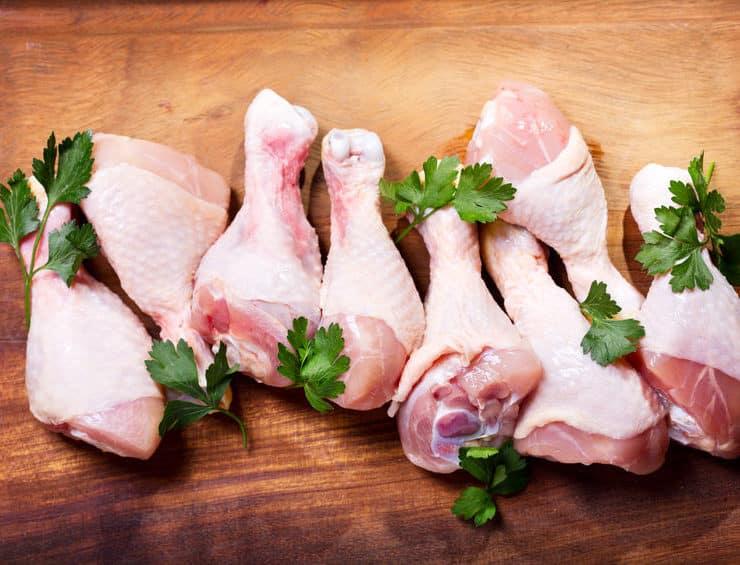 bakterie w mięsie drobiowym