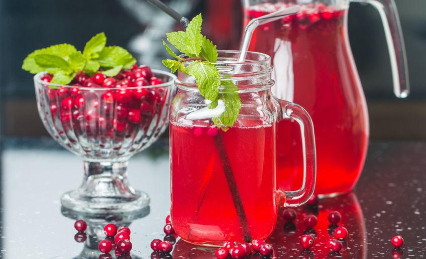 sok żurawinowy